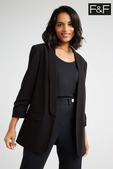 F&F Black Girlfriend Blazer