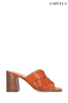 Carvela Glass Orange Sandals