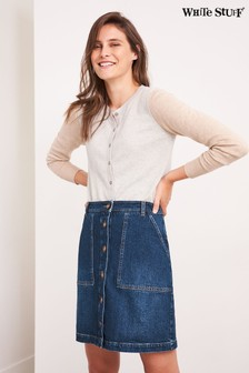 White Stuff Denim Canterbury Denim Skirt