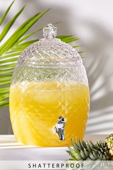 Pineapple Drinks Dispenser