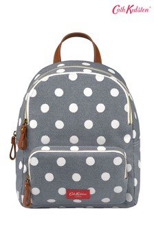 Cath Kidston® Brampton Button Spot Twill Small Pocket Backpack