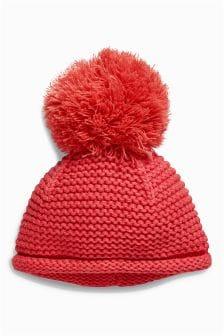 Pom Pom Hat (0mths-2yrs)
