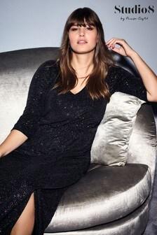 Studio 8 Black Orabelle Maxi Dress