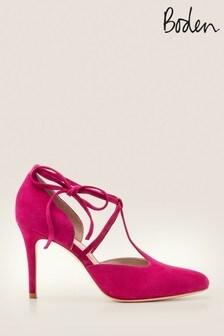 Boden Purple Ines Heels