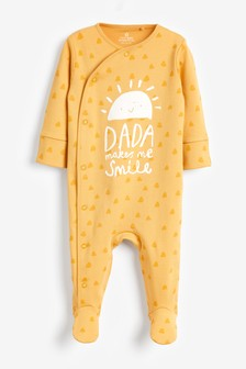 Sunshine Dada Sleepsuit (0-18mths)