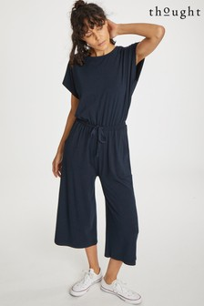 Thought Blue Brigitta Jumpsuit