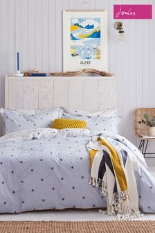 Joules Botanical Bee Cotton Duvet Cover