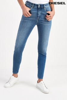 Diesel® D-Slandy Super Skinny High Waist Jeans