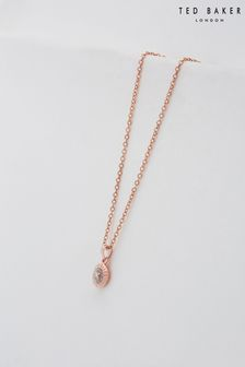 Ted Baker Elvina Enamel Mini Button Pendant