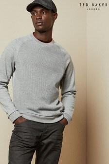 Ted Baker Grey Rib Sweater