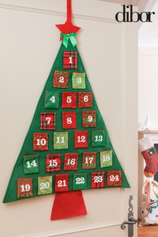 Christmas Tree Advent Calendar by Dibor