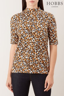 Hobbs Orange Macy Top