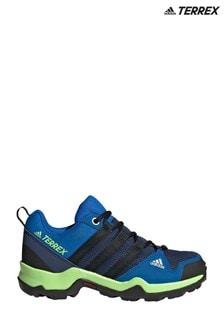 adidas Terrex Blue/Green A2XR Junior & Youth Trainers