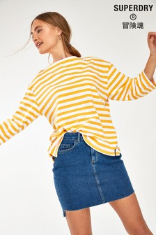 Superdry Yellow Cruise Top