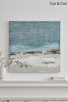 Shoreline Abstract Canvas