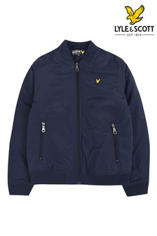 Lyle & Scott Wadded Bomber Jacket
