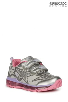 Geox Girl's Android Silver Shoes