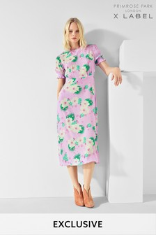 Mix/Primrose Park Floral Print Tea Dress