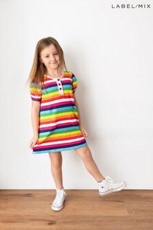Mix/Hill & Friends Stripe Jersey Dress