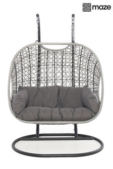 Ascot Double Hanging Chair By Maze Rattan