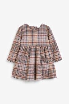 Pink Cozy Check Dress (3mths-7yrs)
