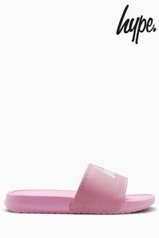 Hype. Slider-Sandale, rosa