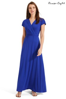 Phase Eight Blue Mel Maxi Dress