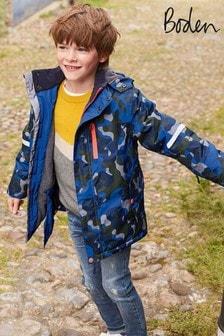 Boden Blue All-Weather Waterproof Jacket