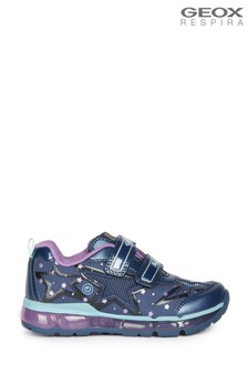 Geox Girl's Android Blue Shoes