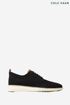 Cole Haan Black 2.Zerogrand Stitchlite Oxford Lace-Up Shoes