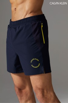 Calvin Klein Blue Performance Shorts
