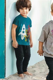 Rocket Short Sleeve T-Shirt And Jogger Set (3mths-6yrs)