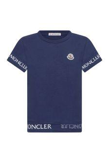 Moncler Enfant Girls Cotton T-Shirt