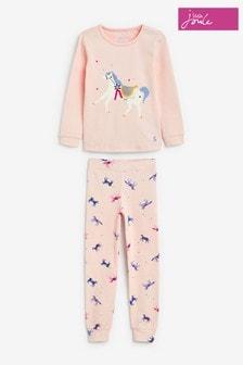 Joules Pink Sleepwell Pyjama Set