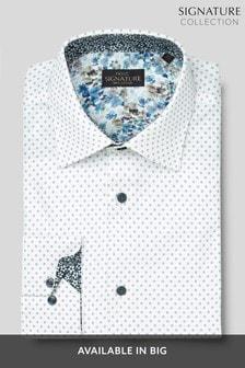 Signature Shirt With Trim Detail