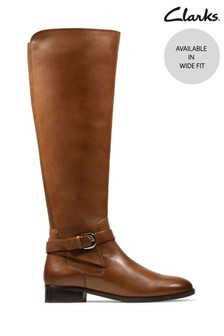 Clarks Tan Netley Whirl Boots