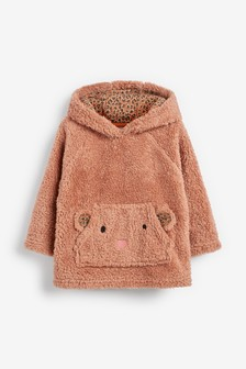 Bear Fleece Hoody (3mths-7yrs)