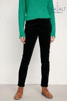 Seasalt Black Lamledra Trousers