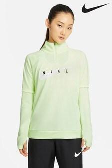 Nike Swoosh Run 1/2 Zip Run Sweat Top