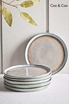 Set of 6 Cox & Cox Maja Stoneware Side Plates