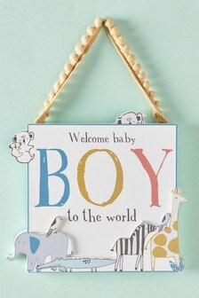 Baby Boy Hanging Decoration