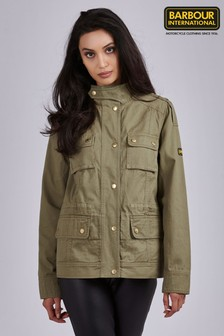 Barbour® International Cotton Utility Throttle Jacket