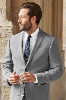 Moška obleka iz mešanice volne: suknjič