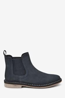 Boys Blue Boots | Blue Chelsea