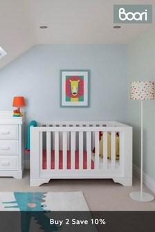Boori Eton Expandable White Cot Bed