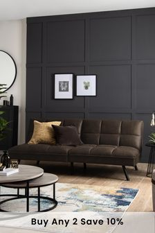Cole Sofa Bed With Black Legs