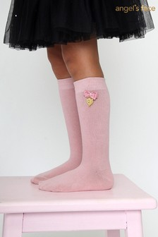 Angel's Face Pink Charming Socks
