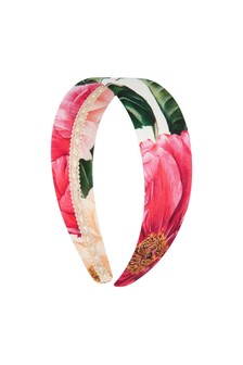 Dolce & Gabbana Girls Pink Headband