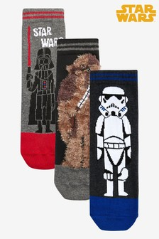 3 Pack Star Wars™ Socks (Older)