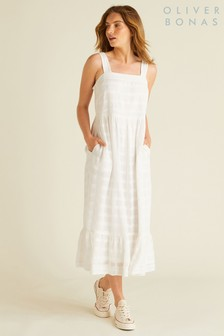 Oliver Bonas Self Check Tiered Sun Dress